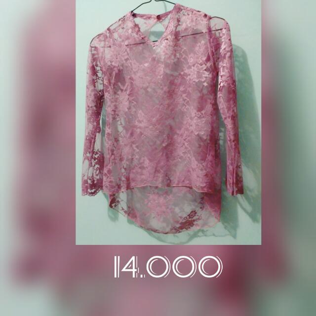 Pink Fucia Brocade
