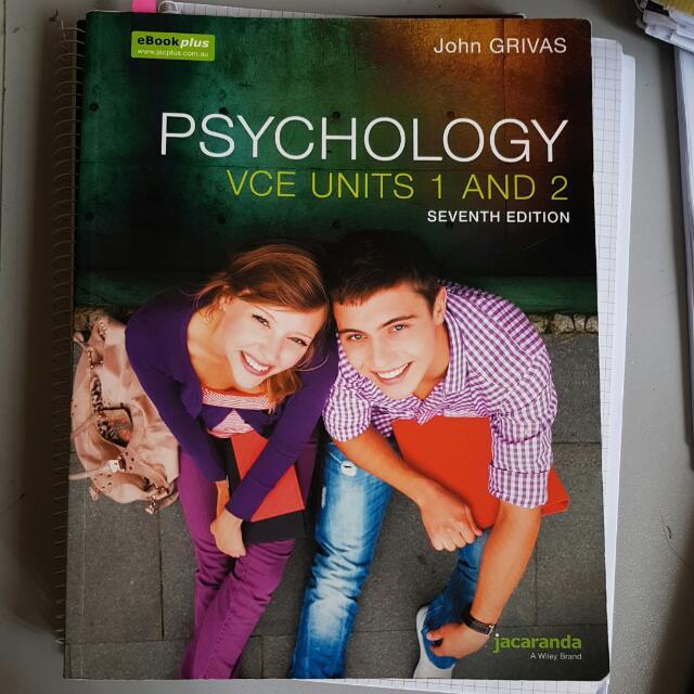 PSYCHOLOGY UNITS 1 & 2
