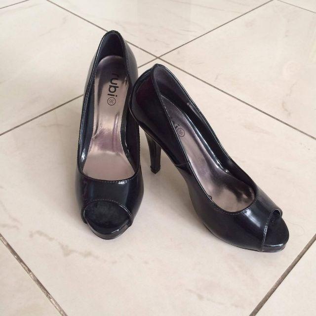 RUBI Classic Black Heels