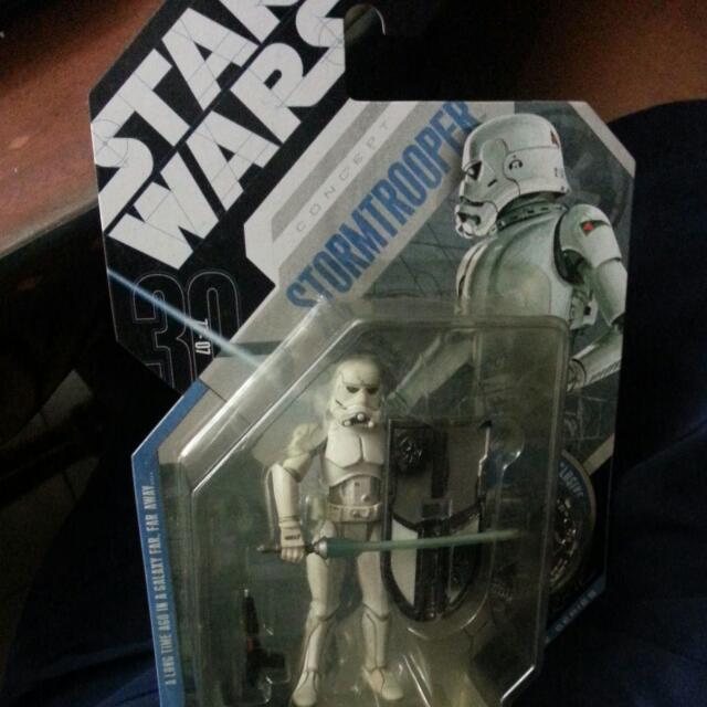 Star Wars Concept Stormtrooper Action Figure