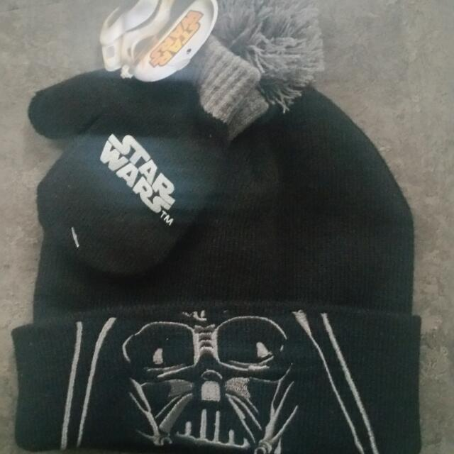 Star Wars Hat And Mittens