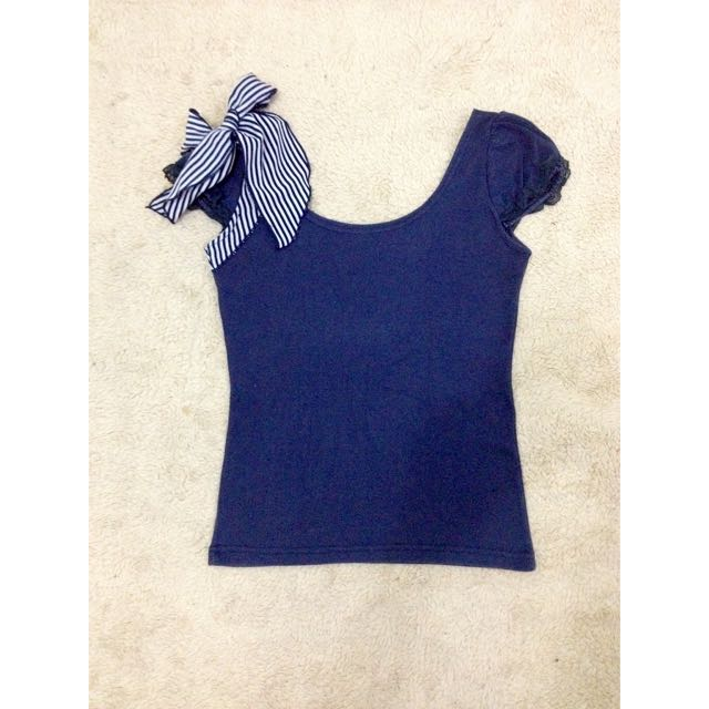 Stretchable Fitted w/ Ribbon
