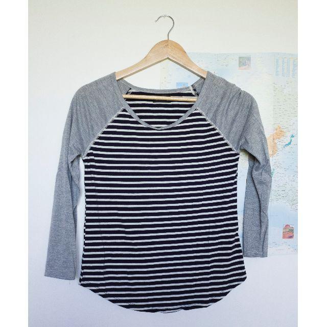 Striped Dotti top