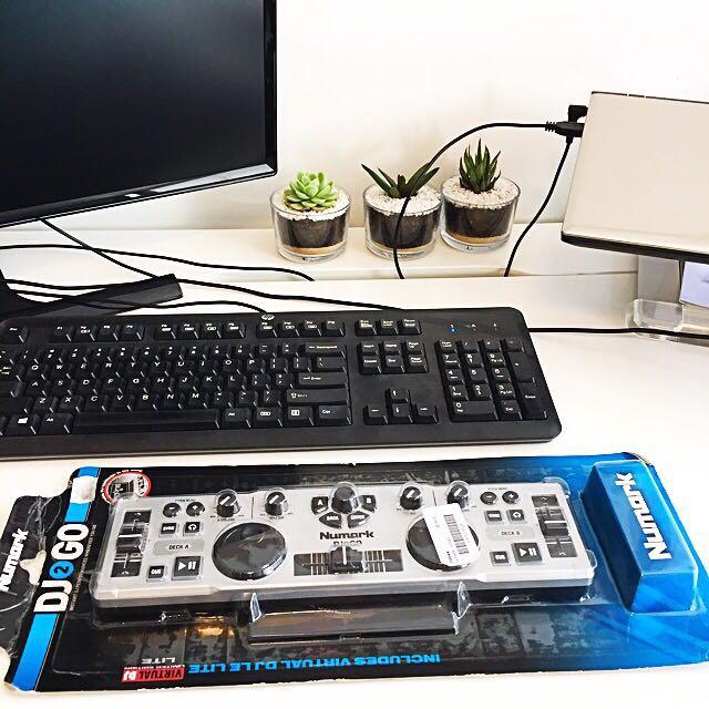 Price Drop - Portable DJ Mixer