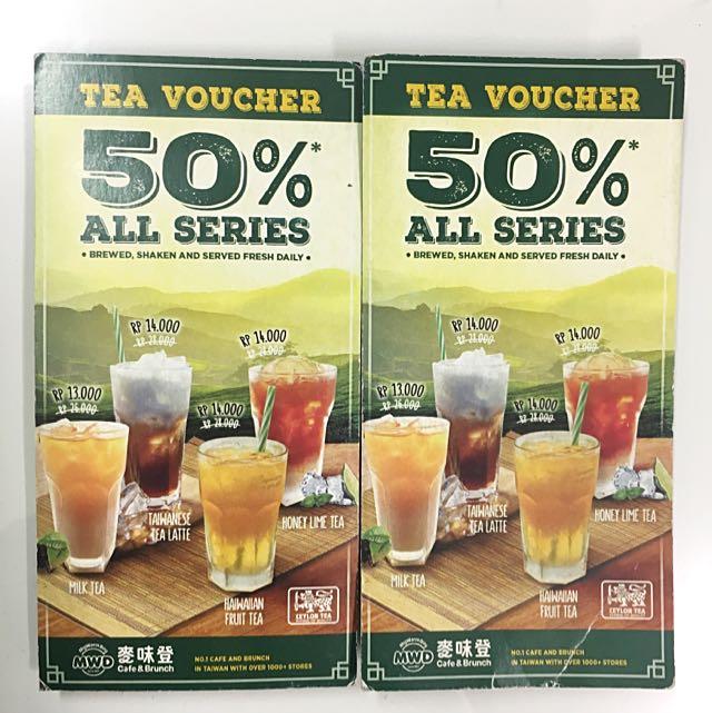 Tea Voucher 50% My Warm Day Cafe&Brunch