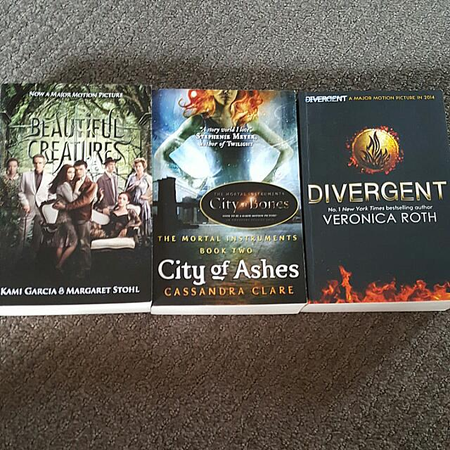 Three Books From Popular Series