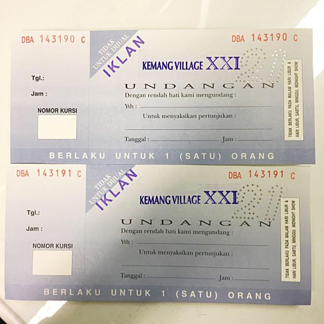 Ticket Bioskop Kemang Village XXI