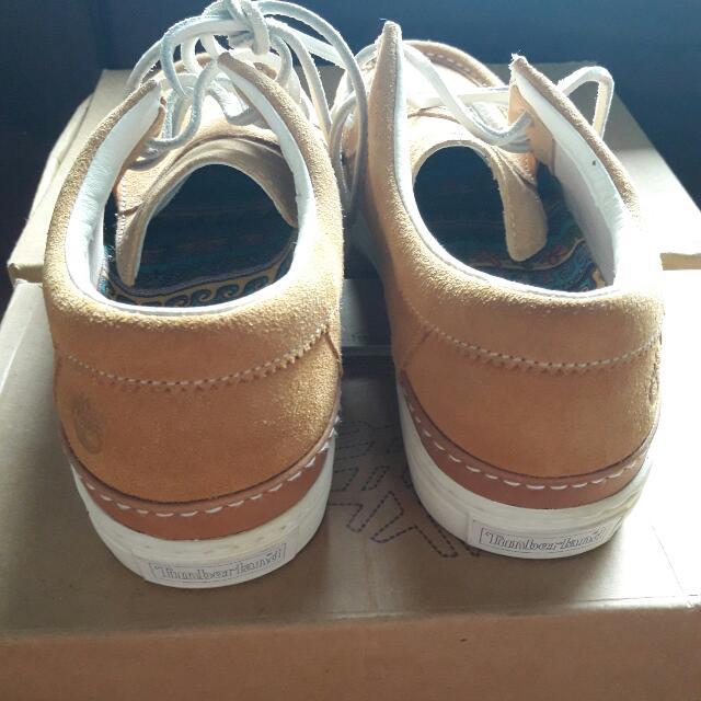 ed74355739e timberland X stussy deluxe moc toe, Men's Fashion, Men's Footwear on ...