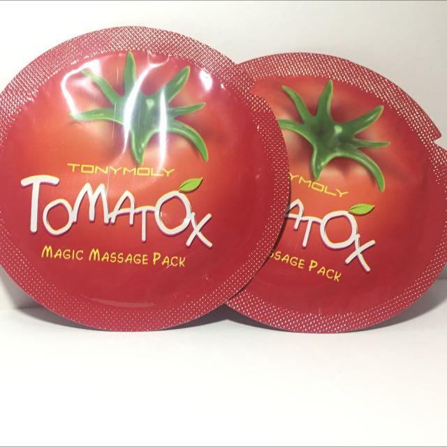 Tonymoly Tomatox Magix Massage Pack