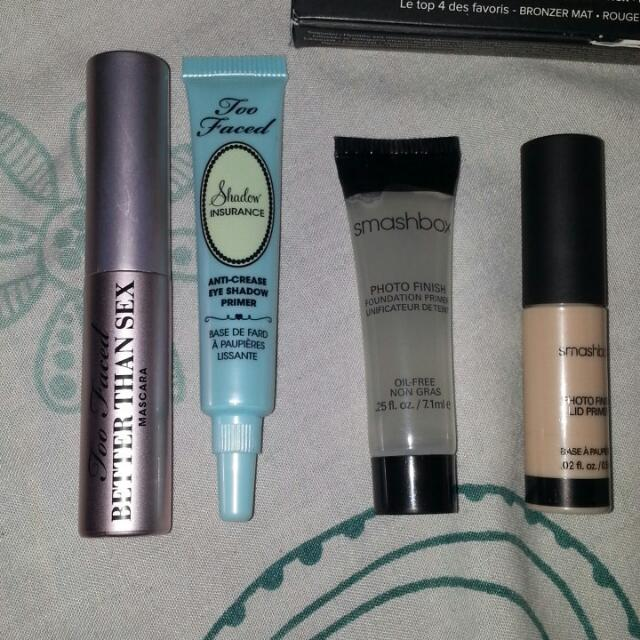 *Reserved* Too Faced & Smashbox Authentic