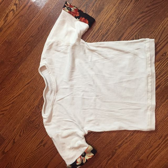 White Plain Tshirt