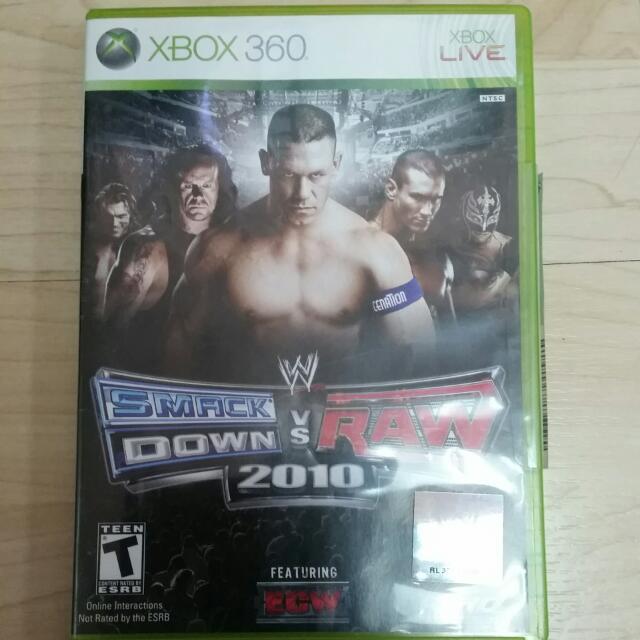 smackdown vs raw 2010 game