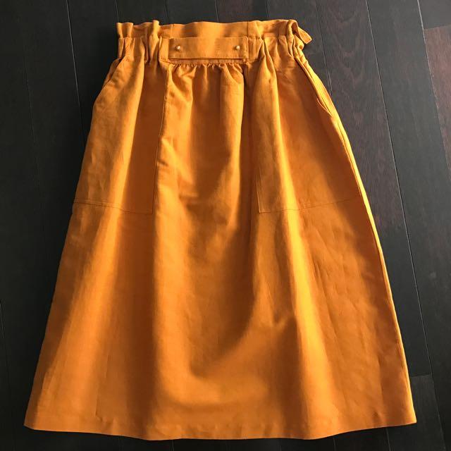 Zara Skirt Orange Size M