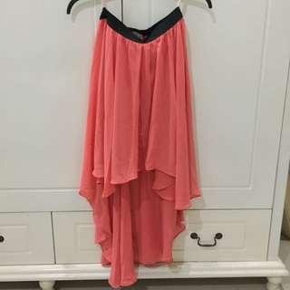 N.Y.L.A Peach Skirt