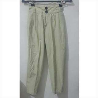 Long Pants Creme