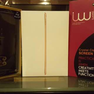 IPad Pro 9.7 inch 128GB Wifi+Cellular (Rose Gold) (SEALED)