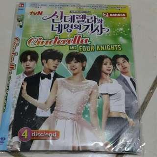 DVD Cinderella &four Knights - Drama Korea