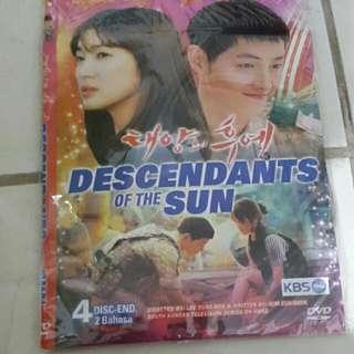 DVD Descendants Of The Sun - K Drama
