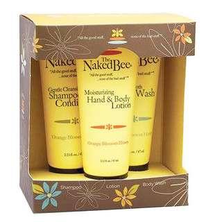 Naked Bee Bath & Body Gift Set