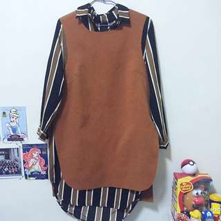少女の襯衫X洋裝