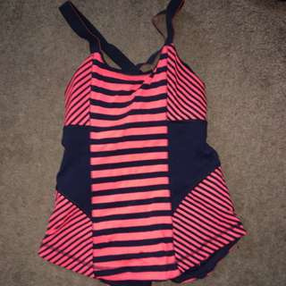 Striped Lululemon Tank
