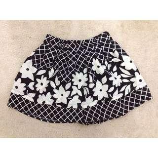 Floral Skirt/Short