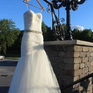 Beautiful Mori Lee Wedding Dress