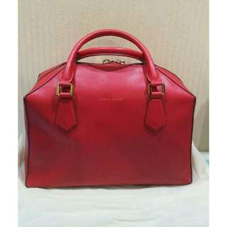 Charles And Keith Red Bag