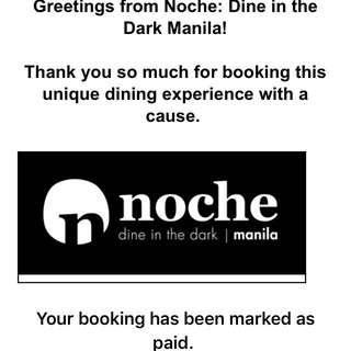 Noche: Dine In The Dark