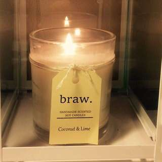 Coconut & Lime Handmade Scented Candle