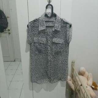 Preloved Leopard Shirt