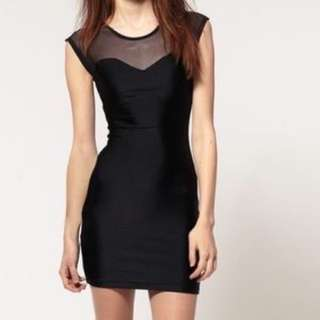 American Apparel Mesh Top Dress