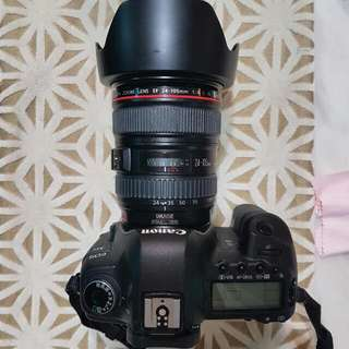 Canon 5D Mark II With EF 24-105