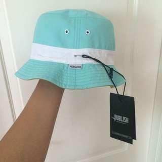 全新 Publish Brand Darius Bucket Hat 雙面 漁夫帽
