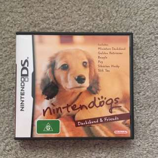 Nintendo DS Game - Nintendogs Dachshund And Friends