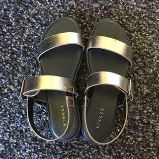Metallic Sandals 36-37