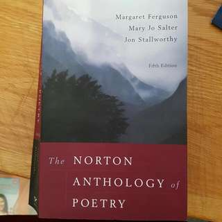 Norton Anthology Poetry