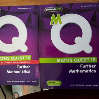 Maths Quest - Further Maths Year 12 Textbook