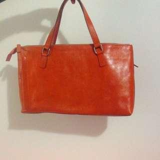Club Monaco Leather Bag