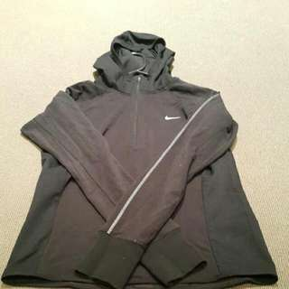 Authentic Nike Running Half Zip Long - Black