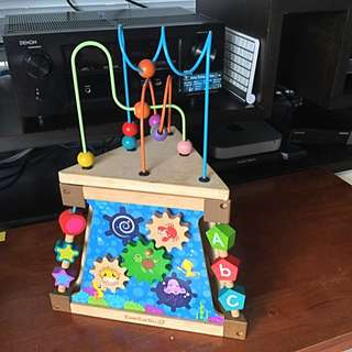 EverEarth Wooden Activity Toy