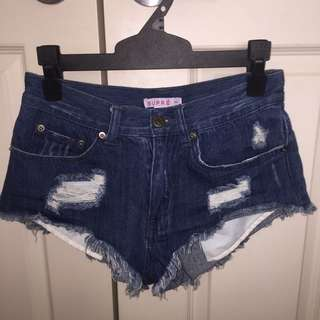 Supre Denim Shorts xs