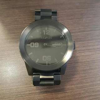 ORIGINAL NIXON CORPORAL SS 48mm WATCH ALL BLACK