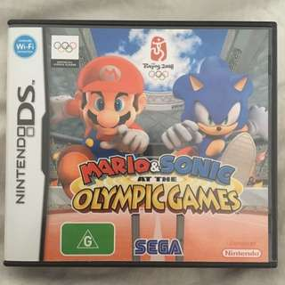 Nintendo DS Mario & Sonic At The Olympic Games