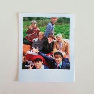 BTS YOUNG FOREVER GROUP POLAROID