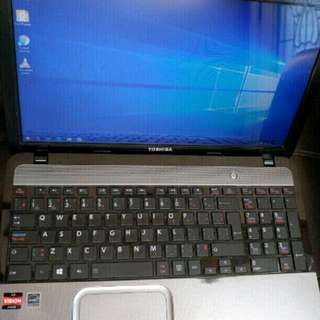 Windows 10 -  Toshiba laptop, 4GB Ram, 320GB Hard Drive