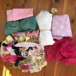 Assorted FABRICS AND TRIMS