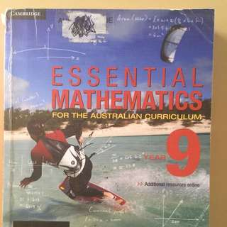 Cambridge Essential Mathematics Year 9