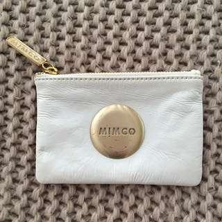 White Mimco Clutch