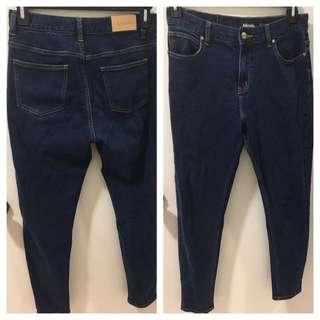 Afends Sz 12 Zeppelins High Waist Jeans